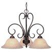 Wildon Home ® Sienna 3 Light Nook Chandelier