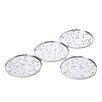 Alessi My Drop Glass Coaster in Mirror Polished by Pio and Tito Toso (Set of 4)