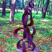 Harvey Gallery Crescents Garden Statue