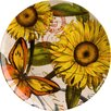 "<strong>Waechtersbach</strong> Accents Nature 8"" Sunflower Plate (Set of 4)"