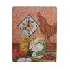 Lexington Studios Home and Garden Roosters Wall Clock