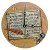 """Lexington Studios Home and Garden 18"""" Composing Wall Clock"""