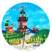 "<strong>Lexington Studios</strong> Travel and Leisure 18"" Light House Wall Clock"