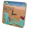 <strong>Travel and Leisure Skinny Dipping Tiny Times Clock</strong> by Lexington Studios