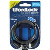 <strong>4' 6MM Black Cable Lock</strong> by WordlockInc