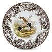 """Spode Woodland 10.5"""" Mallard Dinner Plate"""