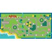 Play Carpet Happy Village Kids Rug