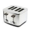 Kitchen Electrics 4 Slot Stainless Steel Toaster
