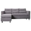 Gold Sparrow Detroit Convertible Chaise Sectional