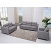 <strong>Detroit 3 Piece Sofa, Loveseat and Arm Chair Set</strong> by Gold Sparrow