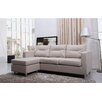 <strong>Detroit Convertible Sectional Sofa and Ottoman</strong> by Gold Sparrow
