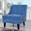 Gold Sparrow Kansas Wingback Slipper Chair