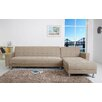 Gold Sparrow Frankfort Convertible Sectional Sofa with Right Facing Chaise