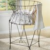 St. Croix Kindwer Vintage Wire Laundry Basket Hamper