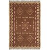St. Croix Hacienda Brown/Tan Southwestern Area Rug