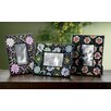 <strong>St. Croix</strong> Kindwer 3 Piece Flower Beaded Perfection Picture Frame Set