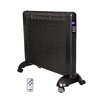 Optimus Micathermic 1500 Watt Flat Panel Space Heater with Remote