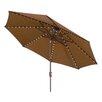 Wanda 11' Oasis Super LED Market Umbrella