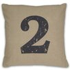 <strong>DR International</strong> Numeral 2 Pillow