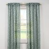 <strong>Kerr Linen Rod Pocket Sheer Curtain Panel (Set of 2)</strong> by DR International
