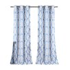 DR International Newburgh Linen Look Grommet Curtain Panels (Set of 2)
