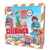 <strong>Citiblocs</strong> 500 Piece Multicolor Construction Set with Storage Bin