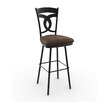 "<strong>Amisco</strong> Countryside Style 30"" Valley Swivel Bar Stool"