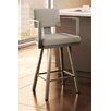 "Amisco Urban Style Akers 26"" Swivel Bar Stool"