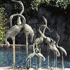 <strong>Birds Crane Pair Fountain</strong> by Brass Baron