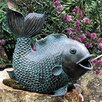 <strong>Swimming Fish Fountain</strong> by Brass Baron