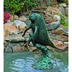 <strong>Sea Life Manatees Fountain</strong> by Brass Baron