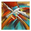 Majestic Mirror Three Dimensional Painting Print on Canvas