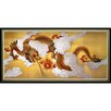 <strong>Oriental Furniture</strong> Dragons in the Sky Framed Painting Print