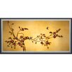 <strong>Oriental Furniture</strong> Birds on Plum Tree Framed Painting Print