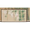 "Oriental Furniture 18"" x 36"" Escape 4 Panel Room Divider"