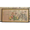 "<strong>Oriental Furniture</strong> 18"" x 36"" Harmony 4 Panel Room Divider"