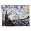 <strong>Oriental Furniture</strong> 'Starry Night' by Vincent Van Gogh Painting Print on Canvas