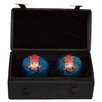 <strong>Oriental Furniture</strong> 2 Piece Shou Cloisonne Health Decorative Ball set