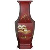 <strong>Hexagonal Vase</strong> by Oriental Furniture