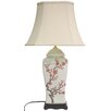 "<strong>Oriental Furniture</strong> 26"" H Blossom Vase Table Lamp"