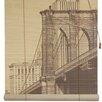 Oriental Furniture Brooklyn Bridge Bamboo Roller Blind