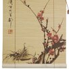 <strong>Sakura Blossom Bamboo Roller Blind</strong> by Oriental Furniture