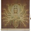 <strong>Oriental Furniture</strong> Thousand Arm Kwan Yin Rayon Roller Blind