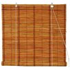 Oriental Furniture Burnt Bamboo Roller Blind
