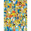 The Simpsons People of Springfield Wall Art