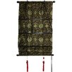 Oriental Furniture Intricate Shang Hai Tan Roman Shade