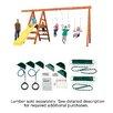 Swing-n-Slide Ready to Build Custom Pioneer DIY Swing Set Hardware Kit - Project 150