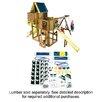 <strong>Ready to Build Custom Kodiak DIY Swing Set Hardware Kit - Project 514</strong> by Swing-n-Slide