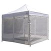 "Impact Instant Canopy 7' 4"" H x 10' W x 1'' D Breeze Wall Kit"