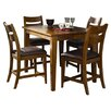 <strong>Urban Craftsmen 5 Piece Counter Height Dining Set</strong> by Klaussner Furniture